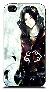 BroomCase Naruto Itachi Uchiha couverture (coquille dure) coque case cover pour iPhone4 4S
