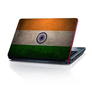 Indian Flag 15.6 inches Laptop Skin by shopkeeda