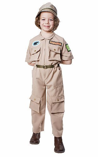 Dress up America Zoo Keeper Costume Set (L) by Dress up America