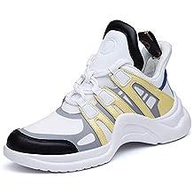 Moquite Otoño Invierno Mujer Zapatos Sneaker Deportivos Zapatos Casuales con Cordones Zapatillas Deporte de Moda