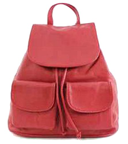 G&G PELLETTERIA , Sac à main porté au dos pour femme rouge