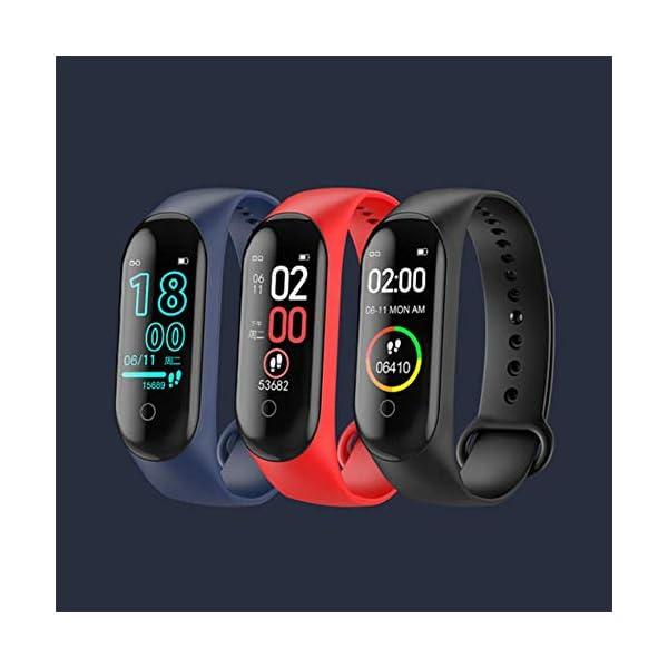Reloj inteligente de Ango, pulsera de actividad deportiva, frecuencia cardíaca, tensiómetro de la tensión arterial… 8