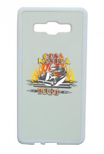 Smartphone Case Cosa Nostra 1934Music Rock n Roll Rocker Bike Auto da Viaggio Travel palme anni  anni per Apple Iphone 4/4S, 5/5S, 5C, 6/6S, 7& Samsung Galaxy S4, S5, S6, S6Edge, S