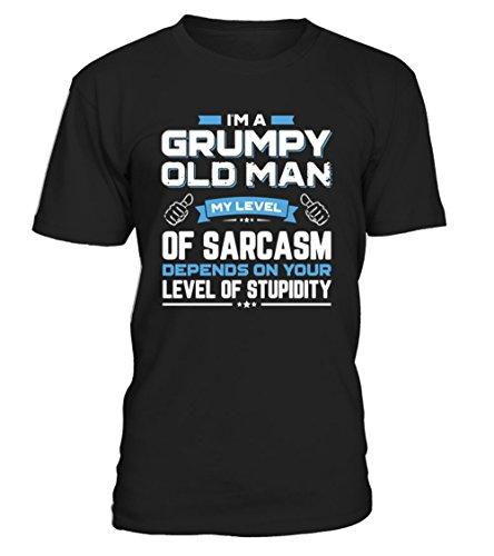 I Am A Grumpy Old Man My Level Shirt