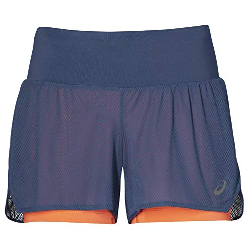 ASICS Cool 2-IN-1 Women's Laufen Sackartige Shorts - SS19 - Small (Shorts Small Running Womens)