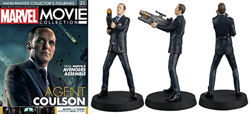 FIGURA DE RESINA MARVEL MOVIE COLLECTION Nº 21 AGENT COULSON