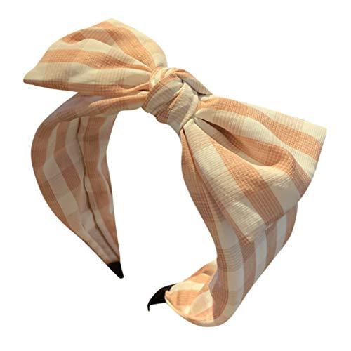 Younthone❤❤Kopfband Haarspange,Damen Striped Bow Stirnband Creative Headwear Zubehör Stirnband speciales neues Design für Damen Haarschmuck für Mädchen (Cute Halloween Kränze)