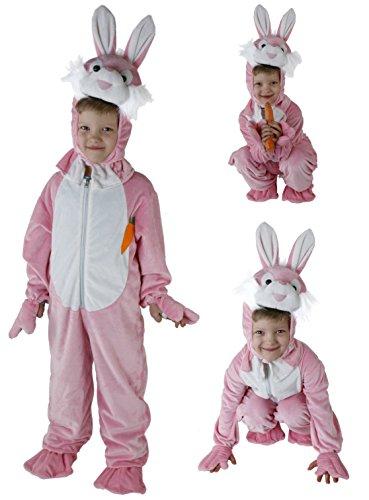 Kostüm Füße Bunny - Gr. 98-128 Hase Häschen Kinder Kostüm Jungen Bunny Kinderkostüm Karneval m2980
