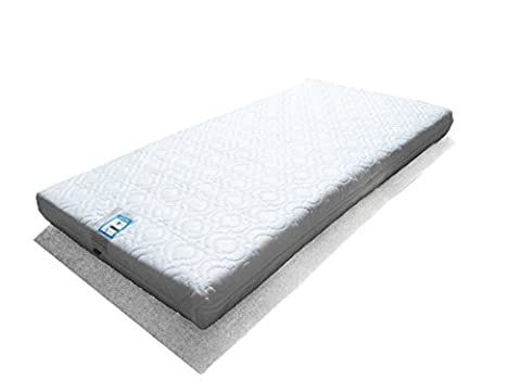 MAISY Superior Sprung/Spring Cot Mattress 127x63cm - (Fits M&P Cots
