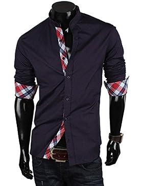 Tazzio - Camisa formal - con botones - para hombre