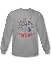 Superman - Working Class shirt à manches longues pour homme au Heather -