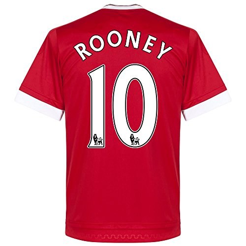 Trikot Manchester United 2015-2016 Home - Rooney [Größe XL]