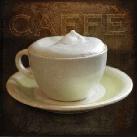 Cafe III par Amy Melious,–Fine Art Print Disponible sur papier et toile, Papier, SMALL (12.5 x 12.5 Inches )
