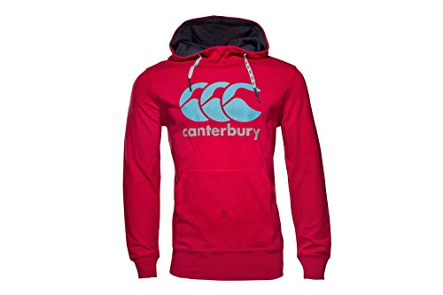 Vapodri Logo Hooded Rugby Sweat - Jester Red - size 4XL (Custom Mesh Fit Rugby)