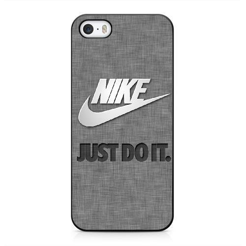 Coque pour NIKE LOGO Série iPhone 5 5s Case noir iPhone 5 5s Coque UIWEJDFGJ4740 Color NIKE LOGO - 008