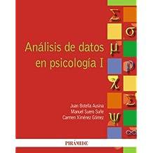 1: Análisis de datos en psicología I