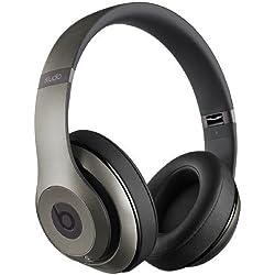 [Inalámbrico] Beats by Dr. Dre Studio Wireless - Auriculares de diadema cerrados (reducción de ruido), color titanio
