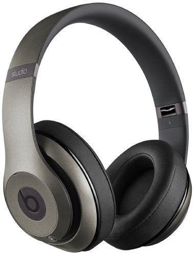 Beats by Dr. Dre Studio Cuffie Over-Ear Wireless, Titanio