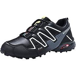 Calzado Deportivo de Exterior de Hombre ZARLLE Zapatos para Correr en Montaña y Asfalto Aire Libre y Deportes Zapatillas de Running Padel para Hombre Mujer