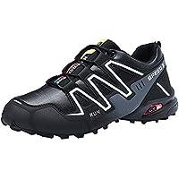 GNYD - Zapatillas para Deportes de Exterior de Cuero para Hombre