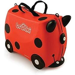 7b944030d Trunki 0092-GB01 Ride-onSuitcase niños equipaje, 18 litros, Rojo