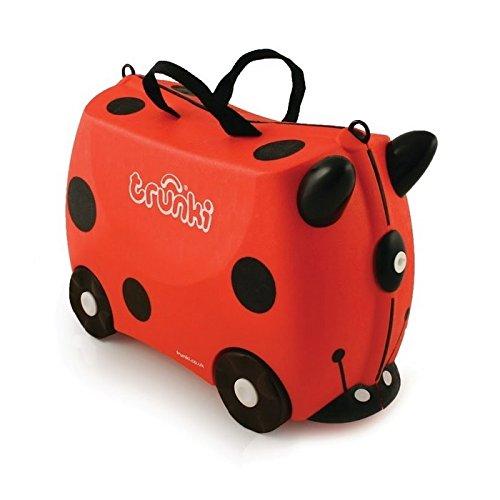 Trunki 0092-GB01 Ride-onSuitcase niños equipaje, 18 litros, Rojo