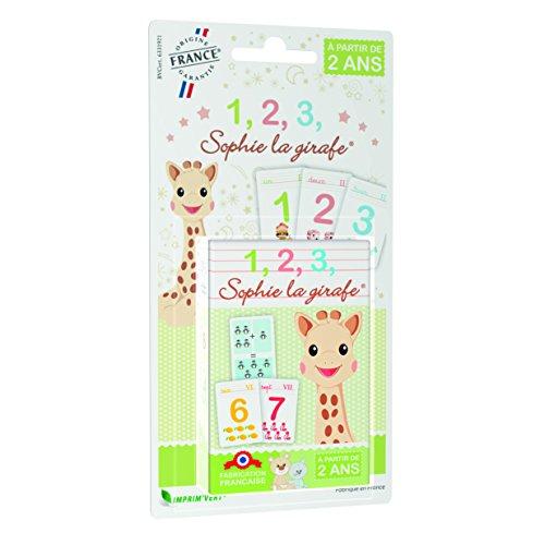 Apicoove apicoove3760002230634Sophie la Girafe 123Juego en Blister