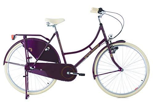 KS Cycling Damen Hollandrad 28'' DutchClassic 3Gänge lila RH54cm Fahrrad 28