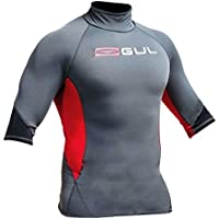 Gul Mens Xola UV50 I-Flex Rash Vest - short sleeves