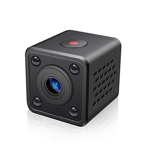 Preisvergleich Produktbild GeKLok Mini-Spion-Videokamera,  720p,  tragbar,  Kleine Nanny-Kamera mit HD-Mobile,  Live View,  Nachtsicht