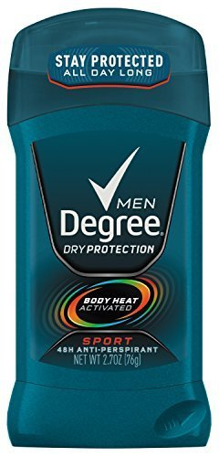 Degree Men Dry Protection Antiperspirant & Deodorant, Sport 2.7 oz (12 Pack) by Degree