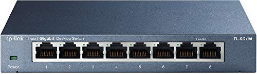 TP-Link TL-SG108 Switch 8 Porte Gigabit,...