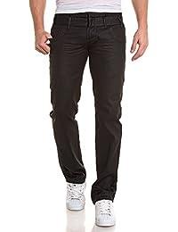 BLZ jeans - Jean noir huilé double ceinture