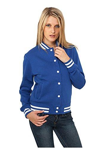 urban classics wmns ladies college sweatjacket Royal