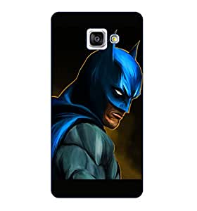 Happoz Samsung Galaxy A9 Pro (2016) Cases Back Cover Mobile Pouches Shell Hard Plastic Graphic Armour Premium Printed Designer Cartoon Girl 3D Funky Fancy Slim Graffiti Imported Cute Colurful Stylish Boys D174
