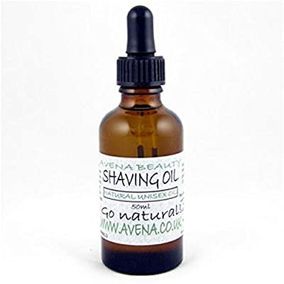 Shaving Oil Unisex 50ml - natural shaving oil for gents or ladies