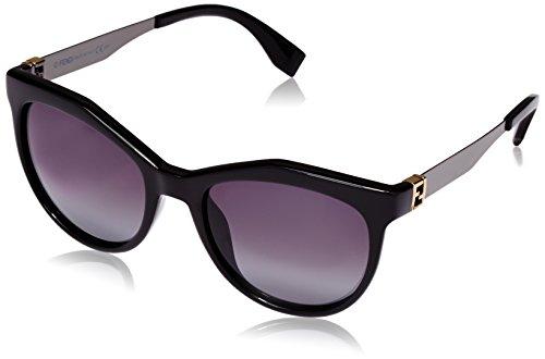 Fendi - occhiali da sole ff 0049/s hd occhi di gatto, donna, kkl
