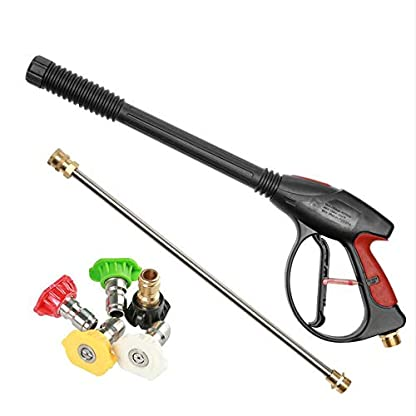 SKLLA-Hochdruck-Pistolenlanze-und-4-Dsen-Waschbesen-fr-Hochdruckreiniger