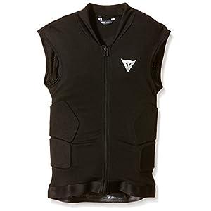 Dainese Kinder Protektorweste Ski Waistcoat Soft Flex, Black/Orange, S, 4879918_T84_JS