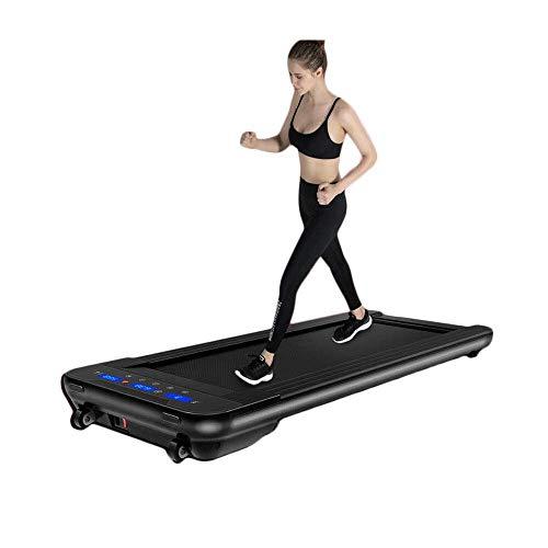 SISHUINIANHUA Schwarz elektrische Fernbedienung laufband Mini elektrische lauftraining Fitness laufband Hause Sport stumm fitnessgeräte -