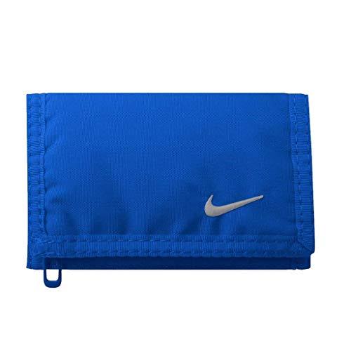 Nike Erwachsene BASIC WALLET Geldbeutel, blau, One size Fashion Unisex Schal