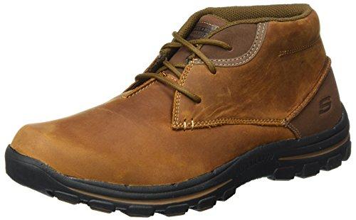 Skechers Men's Braver-Horatio Ankle Boots, Brown (Cdb - Brown), 9 UK