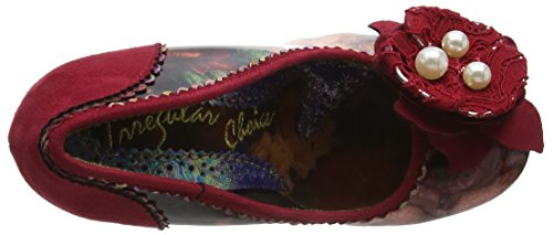 Irregular Choice Forest Row, Escarpins femme Orange - Orange