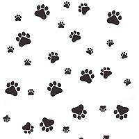 KAKAKOOO Impresiones de la Pata de la Pata del Gato del Perro Imprimir Etiquetas Finalizar Vinilo