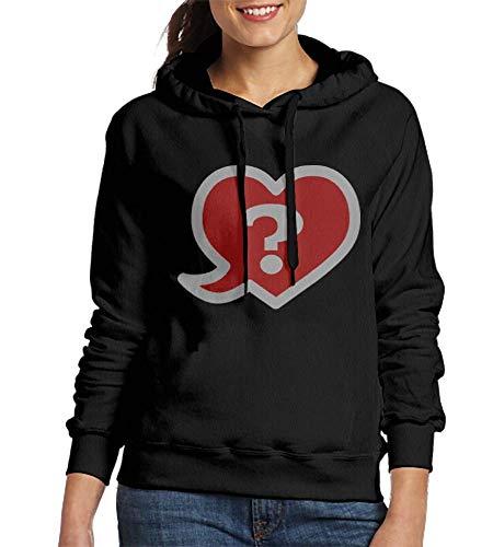 Sweatshirt Women Heart FAQ Love Question Du You Love Me Customized Hoodies