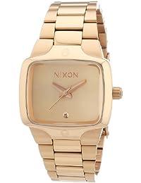 Nixon A300897-00 - Reloj analógico de cuarzo para mujer con correa de acero inoxidable
