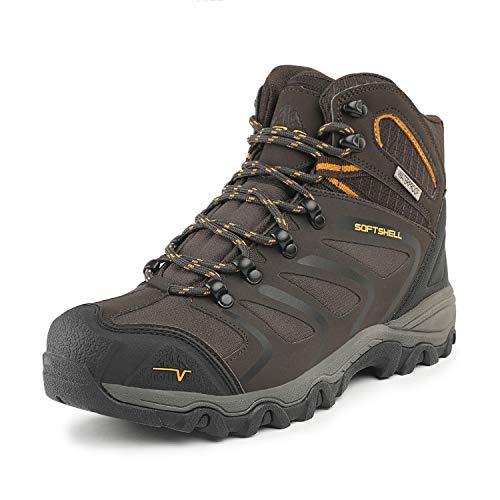 NORTIV 8 Uomo 160448_m Marrone Nero Abbronzatura Stivali da Escursionismo Scarpe Sportive 43 EU/11 US