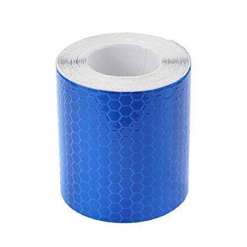 Vosarea nastro adesivo alta visibilità riflettente per camion auto in blu 3m