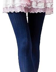 SodaCoda ® Collants thermiques chauds Épis. Taille unique - Automne/hiver