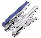 Comprajunta 2 Pack HS822 Grapadora del Tipo De Apretòn,Capacidad De 2-20 Hojas,USA Grapa 24/6Mm-26/6Mm,Cantidad De Grapaciòn≤150,180 * 27 * 75Mm